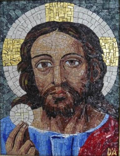 cristo eucaristico 23x30cm