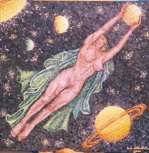 donna tra i pianeti