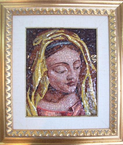 madonna dell'oro 20x25cm
