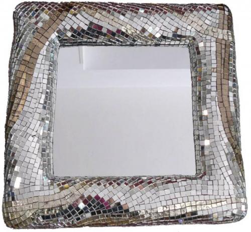 specchio linee di luce-quadrato